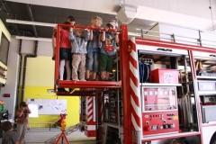 Besuch bei der Feuerwehr 2012