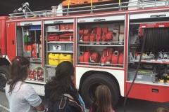 Besuch bei der Feuerwehr 2016