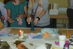 Kerzenziehen 2011