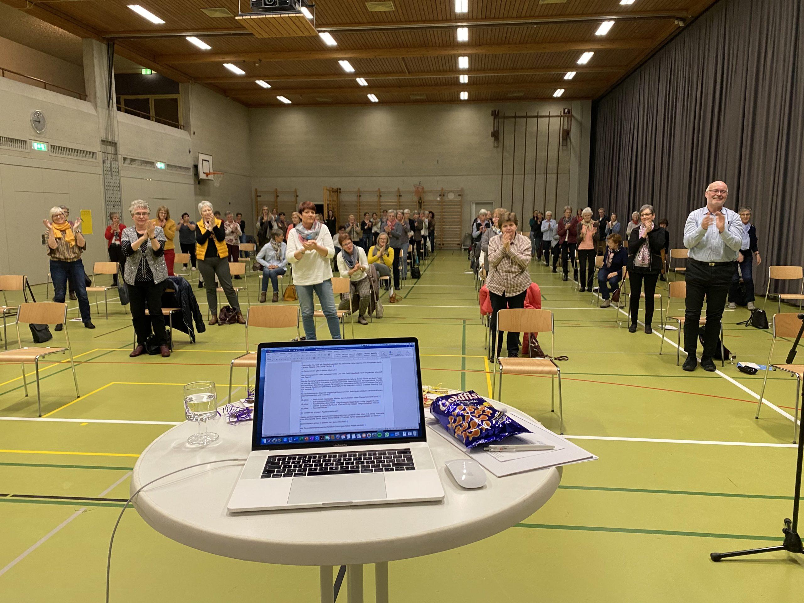 Standing Ovations für Cécile Körner-Wetzel